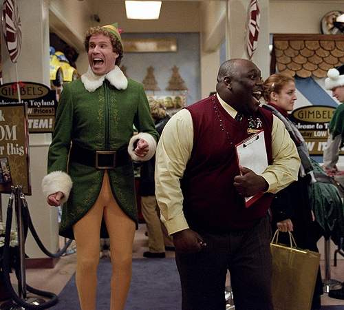 top ten list-best Christmas movies-Elf