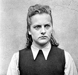 top ten list-List of Ten Infamous Female Nazis-Irma Grese