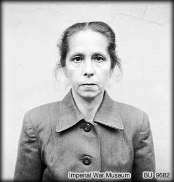 top ten list-List of Ten Infamous Female Nazis-Juana Bormann