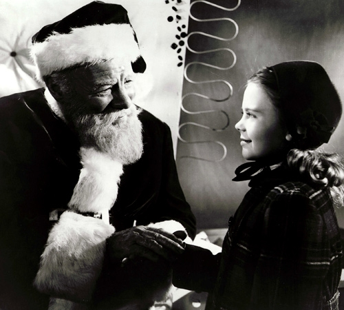top ten list-List of Best Christmas Movies-Miracle on 34th Street