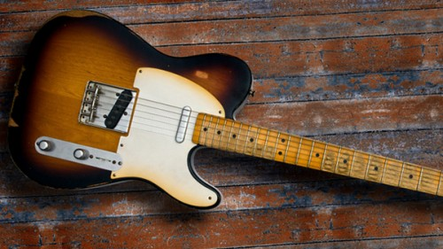top ten list-List O' Top Ten Most Valuable Guitars-1949-Fender-Broadcaster-prototype