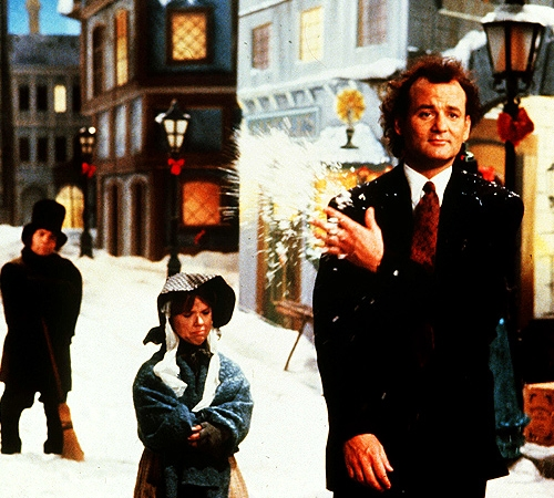 top ten list-best Christmas movies-Scrooged