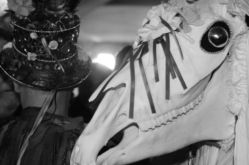 List O' Ten Unusual Christmas Traditions-Wales-Mari Lwyd