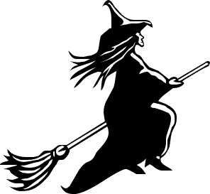 List O' Ten Unusual Christmas Traditions-Norway-witch on a broom