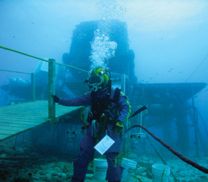 top ten list-List O' Ten Crazy Deep Underground Labs-Aquarius Reef Base undersea lab